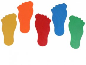 Značka na podlahu noha
